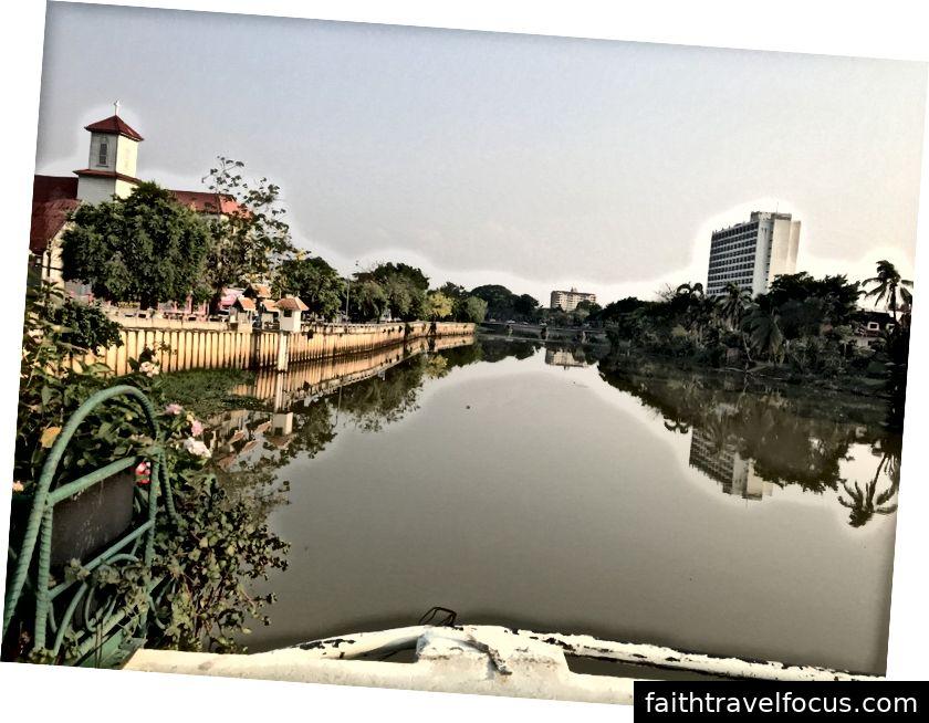 Chiang Mai, mis asub pingi jõe kallastel.
