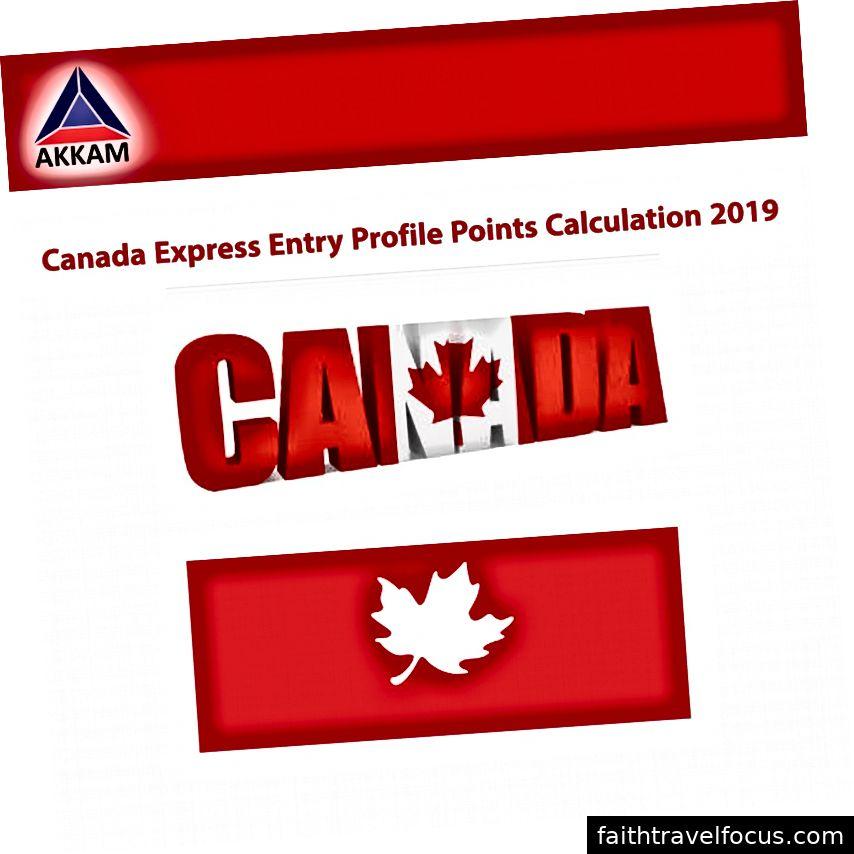 कनाडा एक्सप्रेस प्रवेश कार्यक्रम अंक कैलकुलेटर 2019