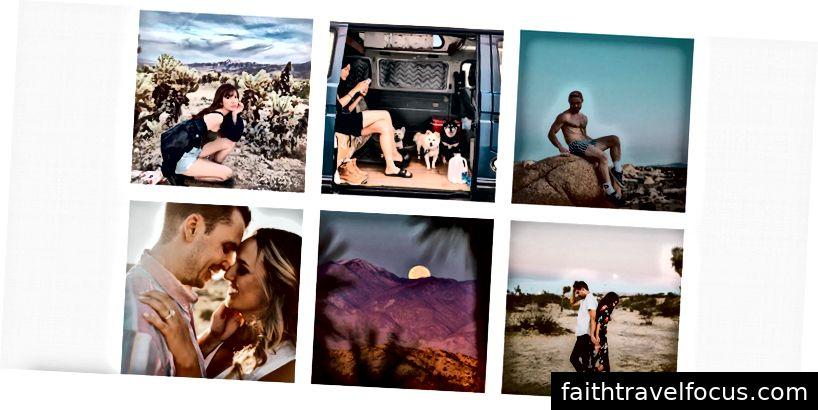 Instagramda Joshua Tree milliy bog'ida olingan eng yaxshi fotosuratlar
