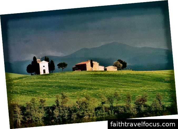 Val d'Orcia [Bildkrediter: Giulio Bernardi]