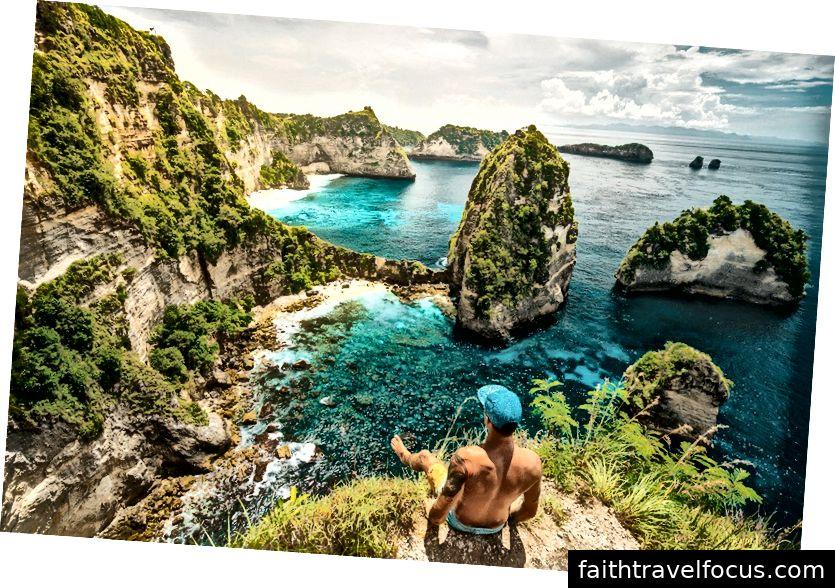 Ідеальний вигляд на точку зору тисячі островів