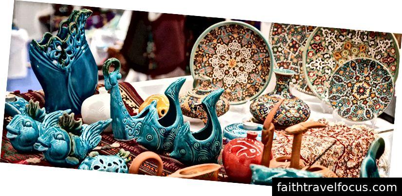 Ceramica și ceramica din Iran. Photo @ Irandaily.com