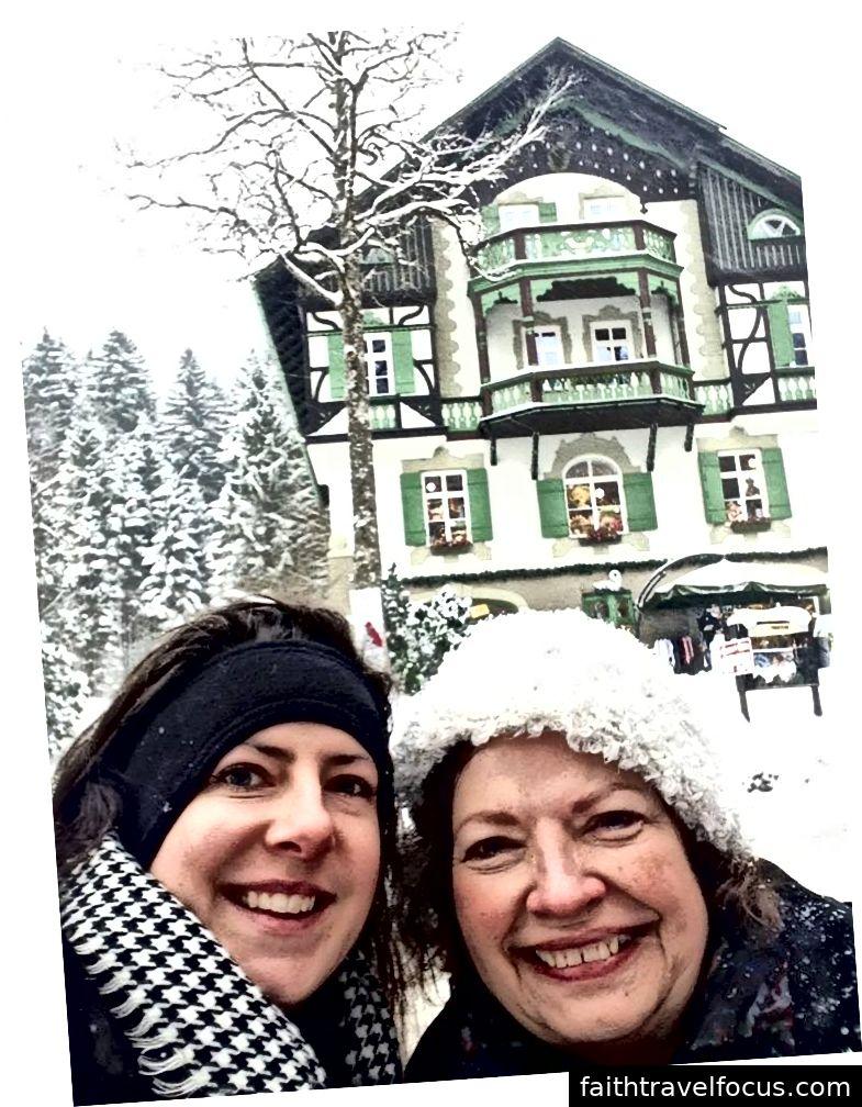 A Neuschwanstein-kastélyba való 2014-es sikertelen próbálkozás. Pro tipp: megrendelheti a jegyeket online időben.