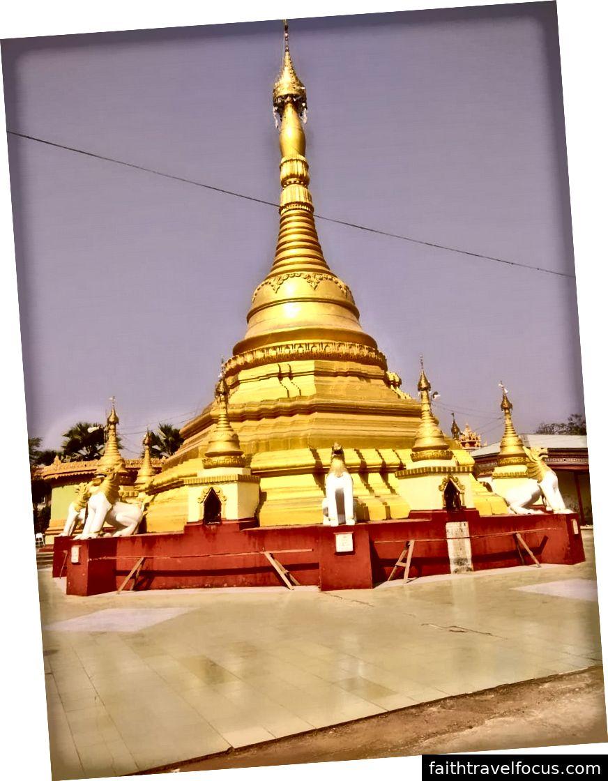 म्यांमार में मंदिर