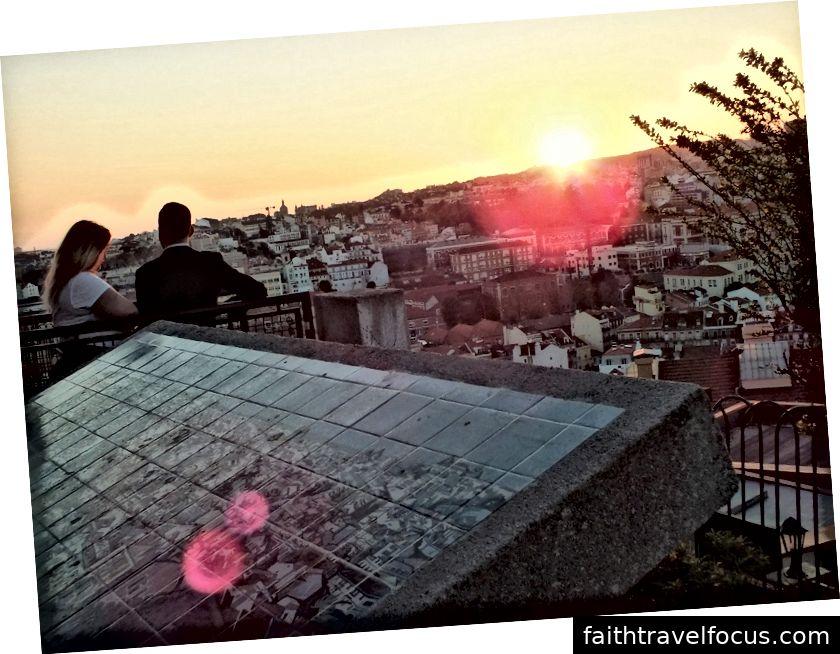 Nossa Senhora do Monte Aussichtspunkt, Lissabon