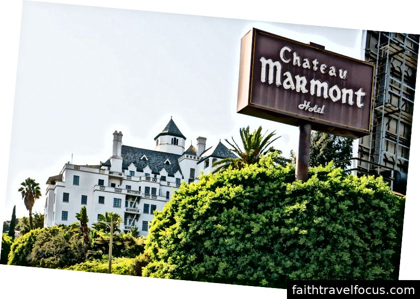 Chateau Marmont in Los Angeles, Kalifornien