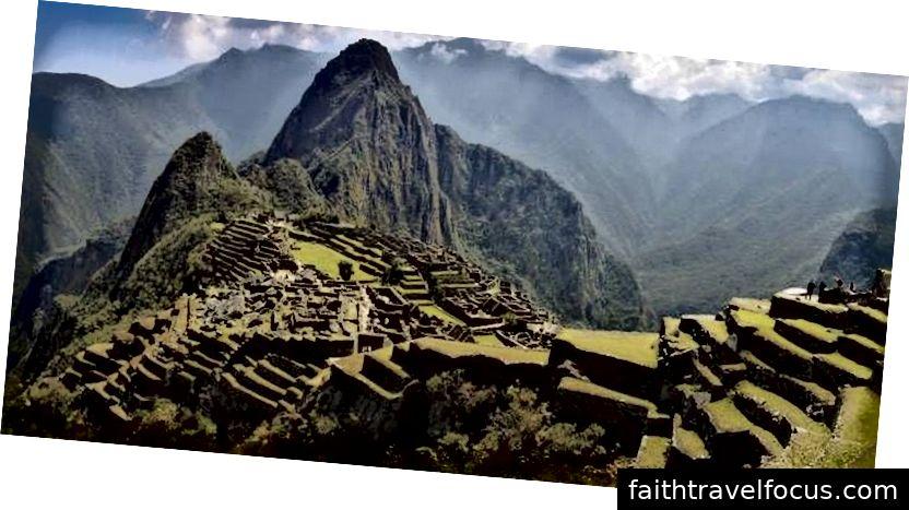 Machu Picchu istub 2430 meetri kõrgusel merepinnast.