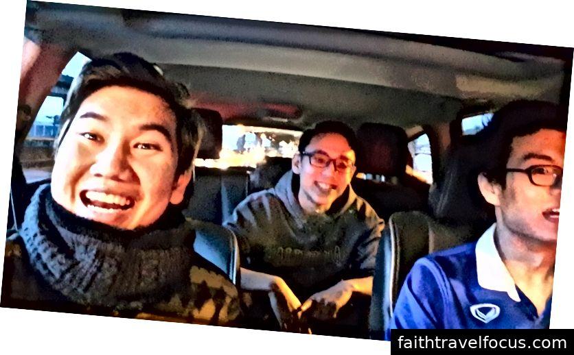 टोनी, विल, और पीट यूटा के रास्ते पर: टोनी मूएंटोथेरियन द्वारा फोटो