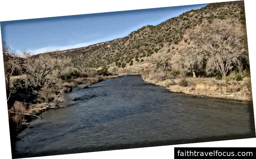 Rio Grande River βρήκε μέσω CBS
