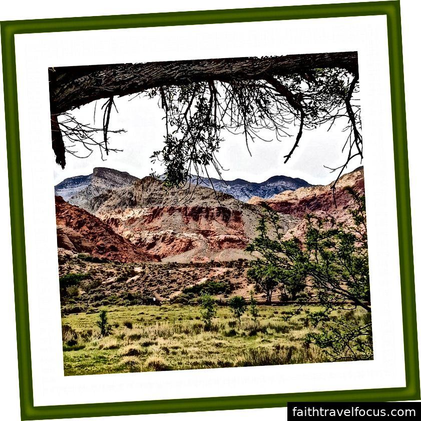 Calico Basin, Las Vegas, Nevada, USA | Květen 2016 | Fotografování v oblasti cestování a krajiny