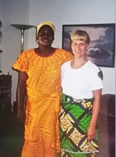 Sra. Sanguma e Sra. Moray