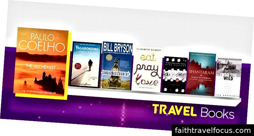 7 كتب السفر التي يمكن أن مصدر إلهام لك للسفر