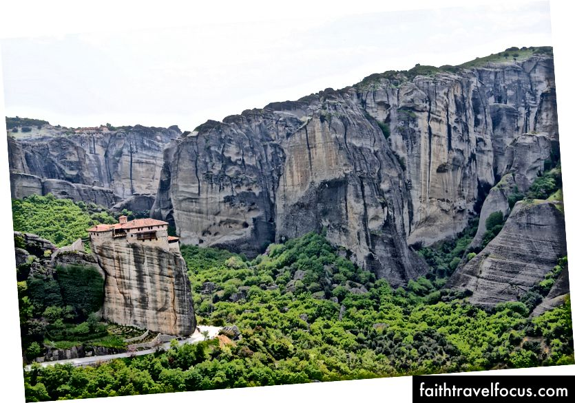 Một tu viện ở Meteora