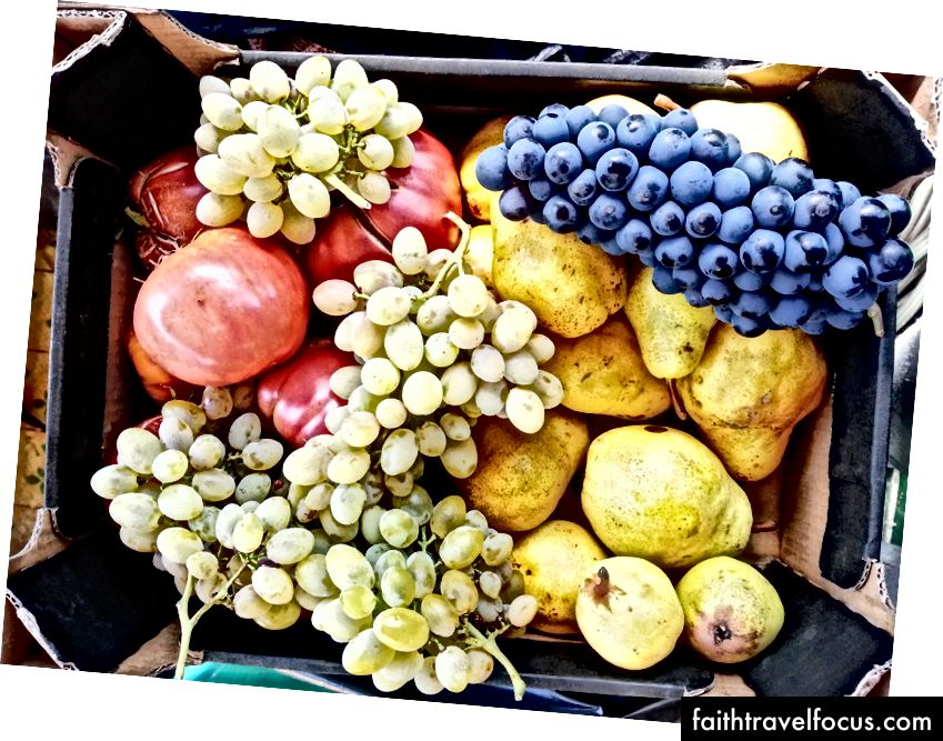 Свежие органические фрукты и овощи прямо из болгарской деревни