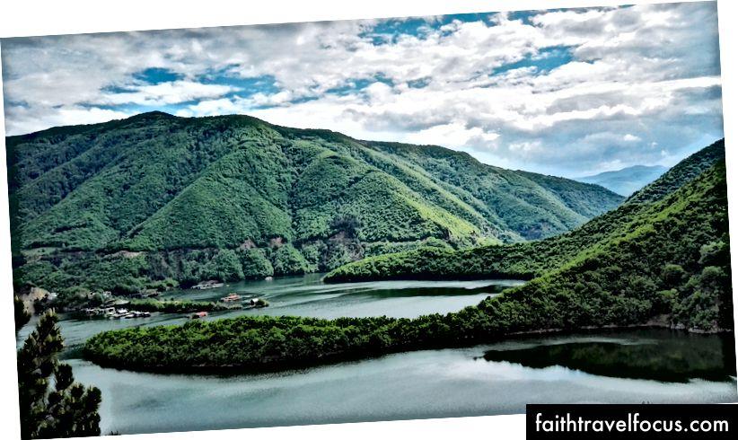 Nádherný výhľad na zeleň len 30 minút pred Plovdivom