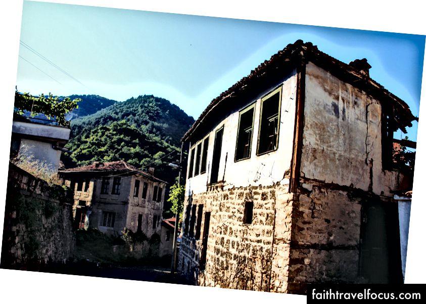 Изучение мощеных улиц села Бачково