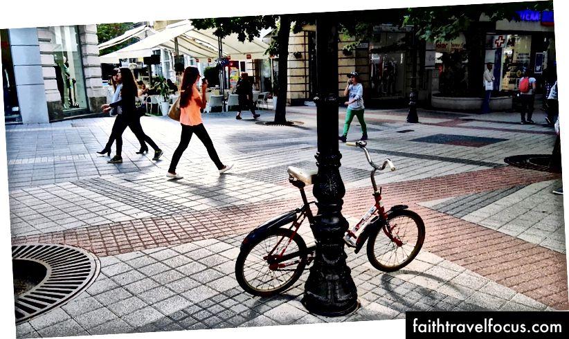 Лучшие способы передвижения по центру Пловдива - на велосипеде и пешком