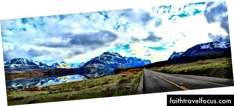 Gratis råd: när du stöter på vägen, se till att inkludera nationalparkerna. Som Glacier National Park i Montana / Idaho.