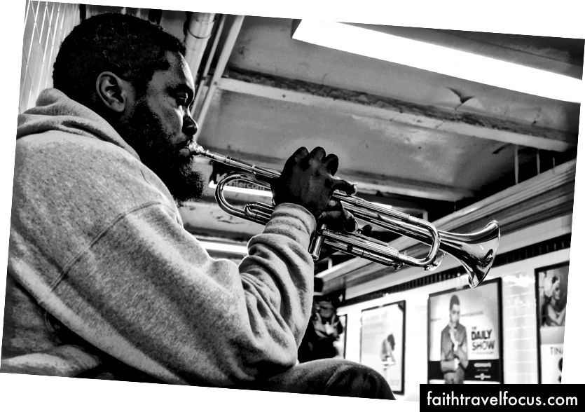 Bunătate în metrou