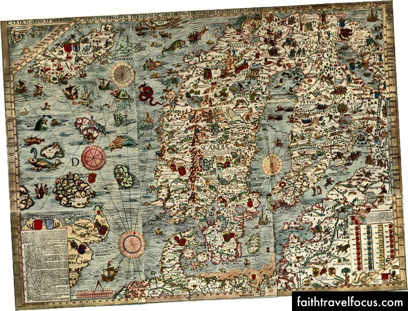 Carta Marina (1539):