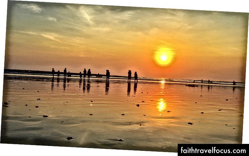 En av de vakreste solnedgangene jeg skjøt på Bali med min iPhone SE (mer på instagram @tdespin)