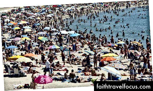 Tensão entre anfitriões e visitantes [Barcelona]