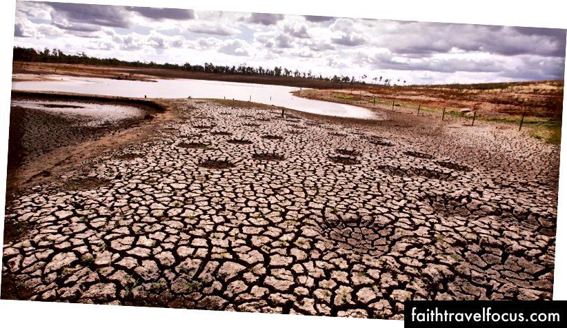 Impactos da mudança climática