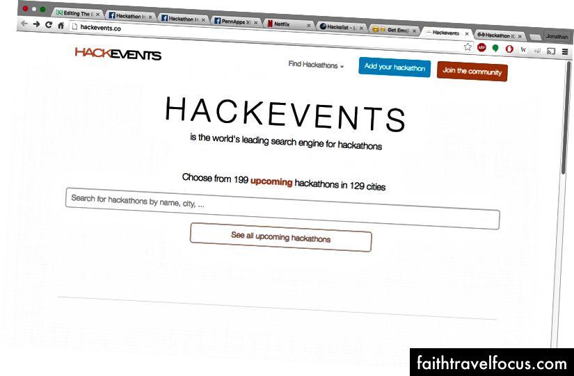 199 hackatonov v 129 mestih. Pogovorite se o lepoti.