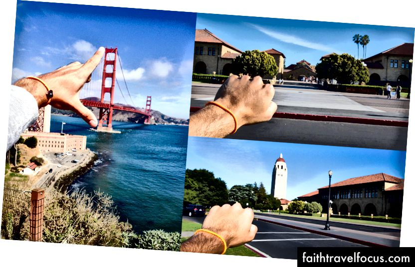 (Golden Gate Bridge & Stanford)