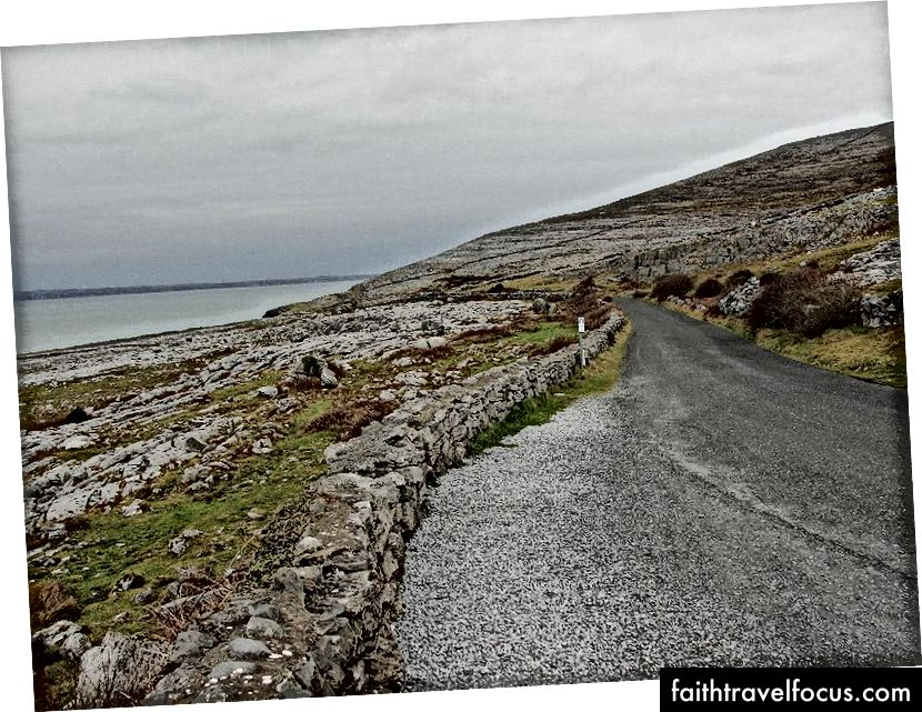 De weg naar Galway