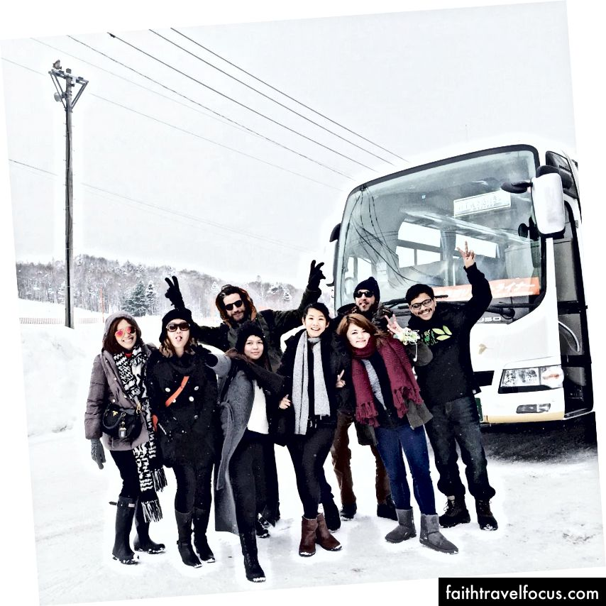 Toàn bộ đội tại Furano, Hokkaido, Nhật Bản - 2016