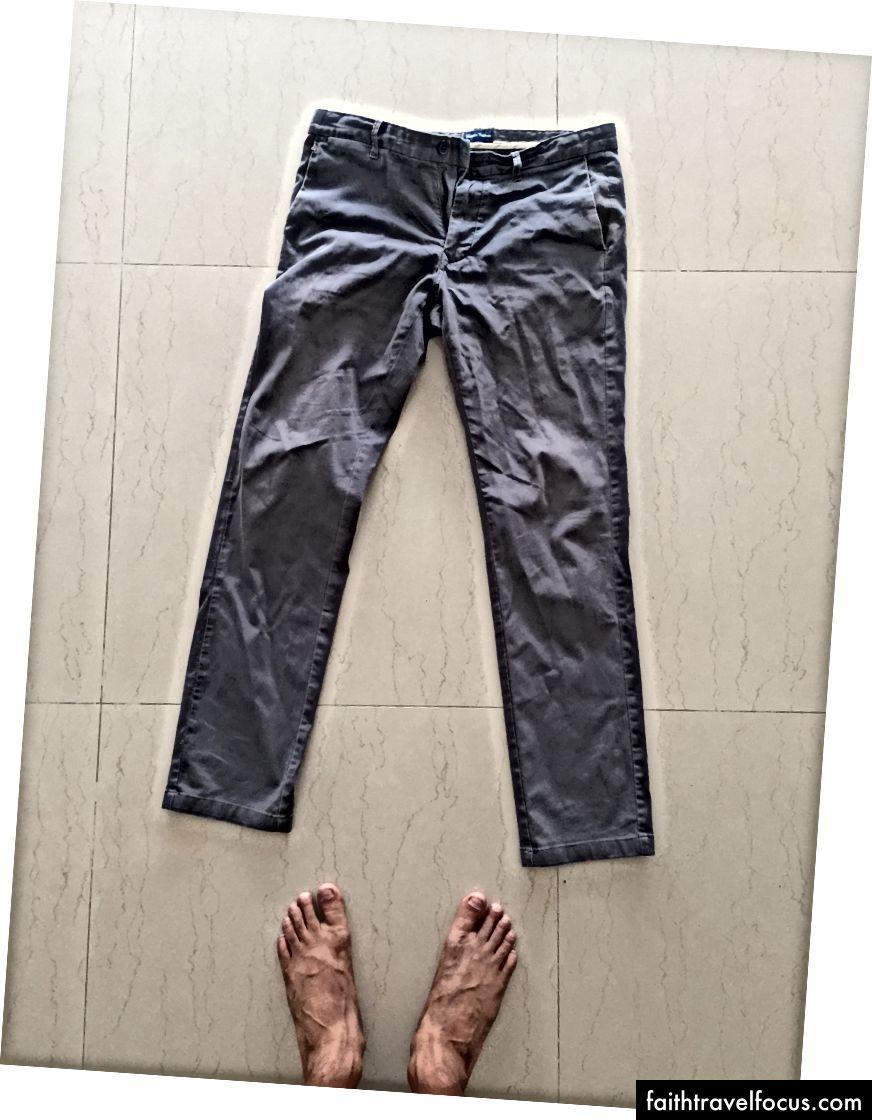 Indian Terrain Olive | Indisch Terrein Donkerblauw | J&J Kobaltblauw linnen | Indian Terrain-broek
