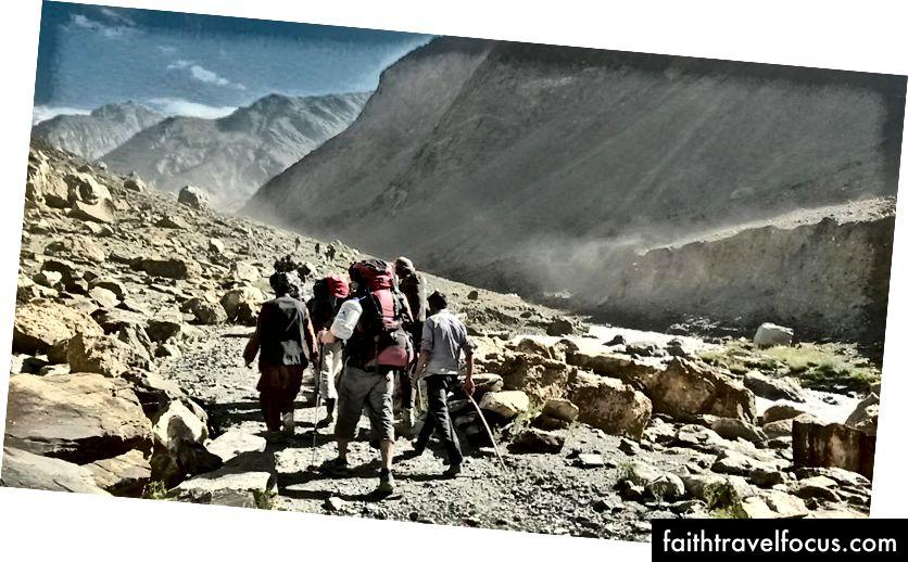 Trek to Noshaq BC