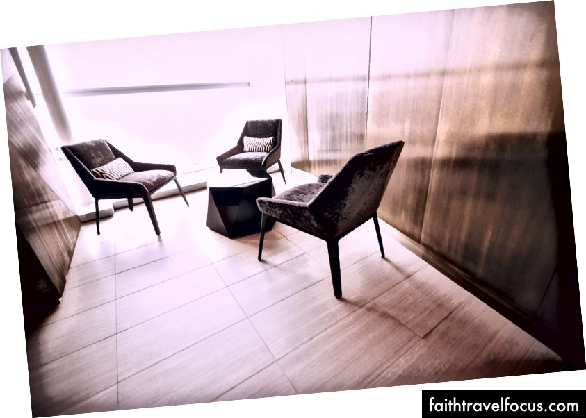 Etihad Lounge ที่เพิ่งเปิดใหม่ที่ JFK