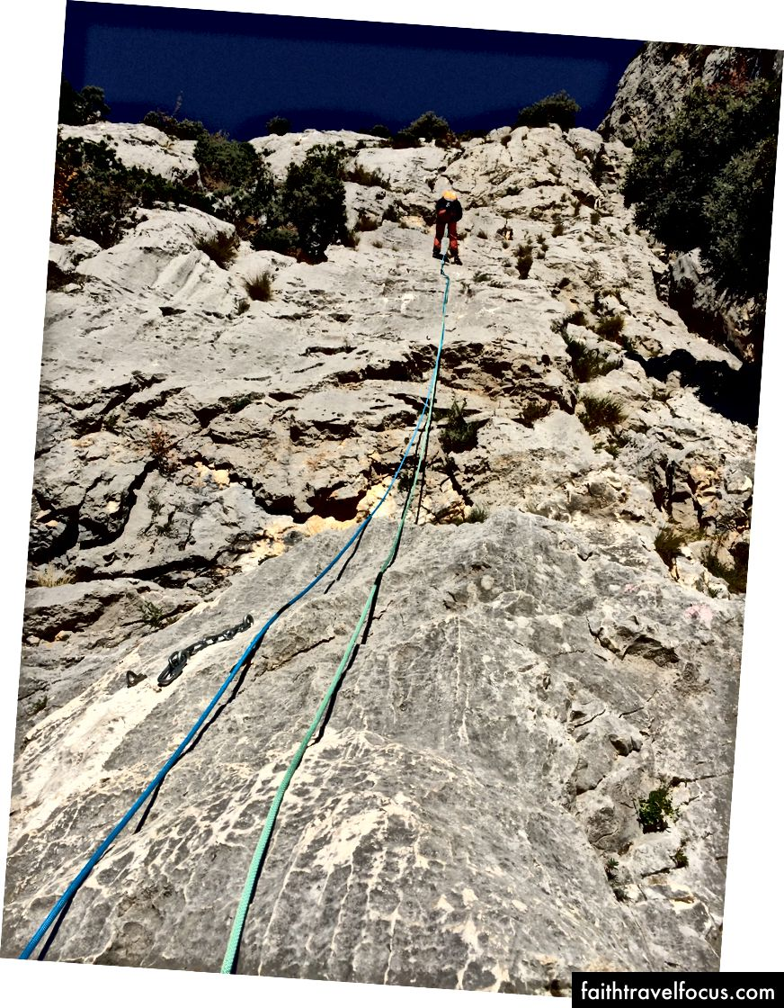 Rappelling Into the Gorges
