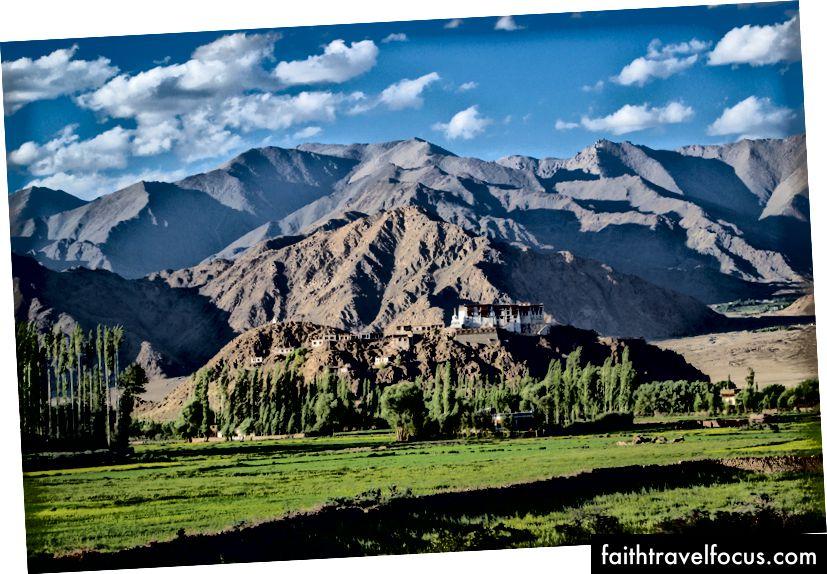 อาราม Stakna, Stakna, Ladakh, อินเดีย