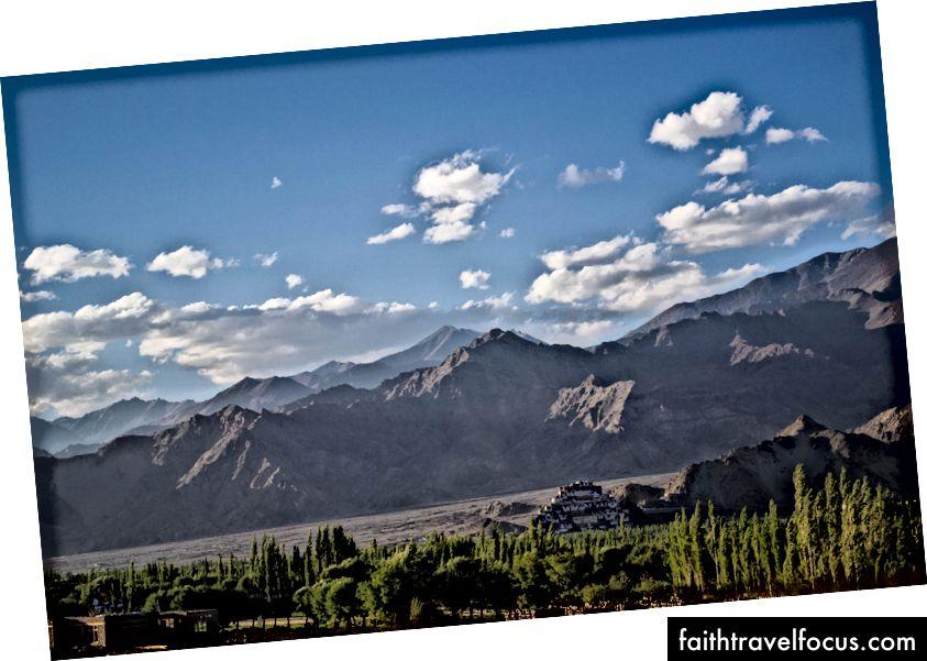 อาราม Thiksey, Ladakh, อินเดีย