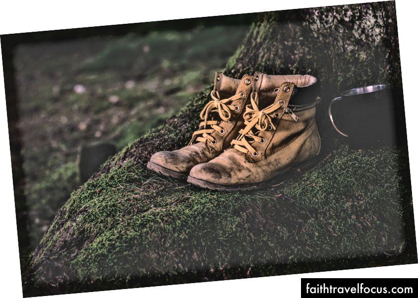 đôi giày của một số ông trùm, ĐỂ ĐƯỢC