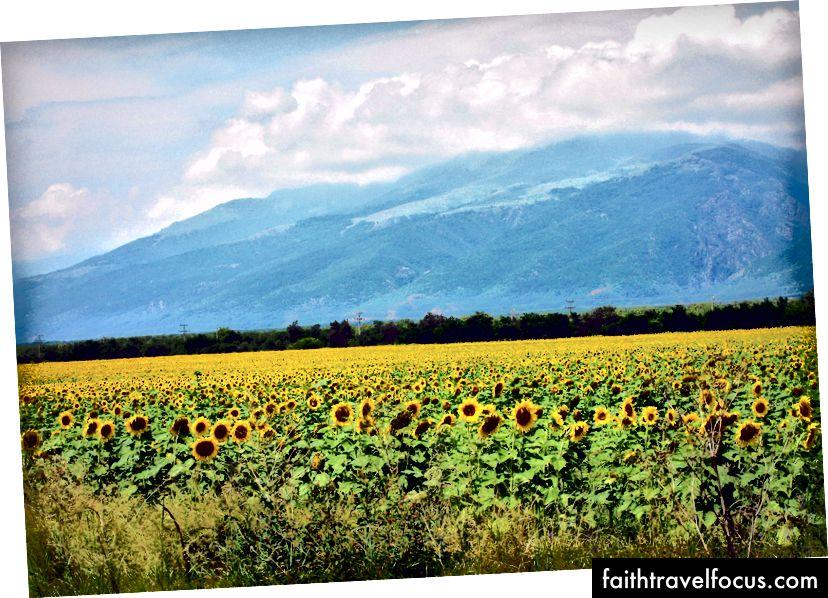 Địa ngục, vực thẳm Dantean đó là vùng nông thôn Bulgaria. Qua Flickr.