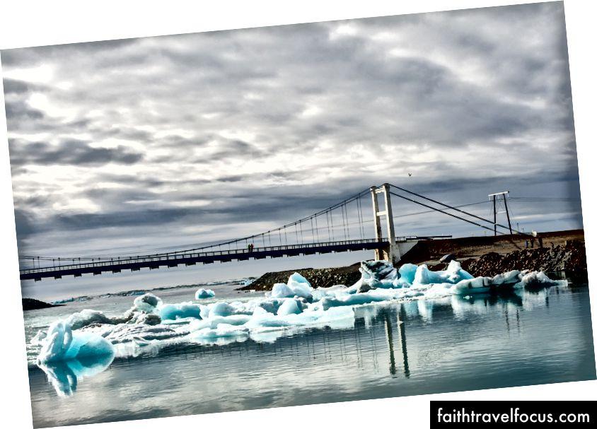Icebergs trên đường đến Đại Tây Dương