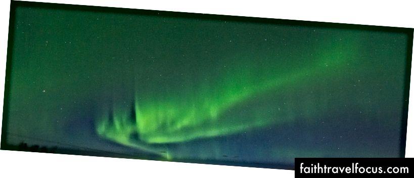 Ánh sáng phía bắc nhìn từ Hvolsvöllur. Sau khi theo đuổi nó trong nhiều năm, cảm thấy tốt để kiểm tra cái này ra khỏi danh sách xô.