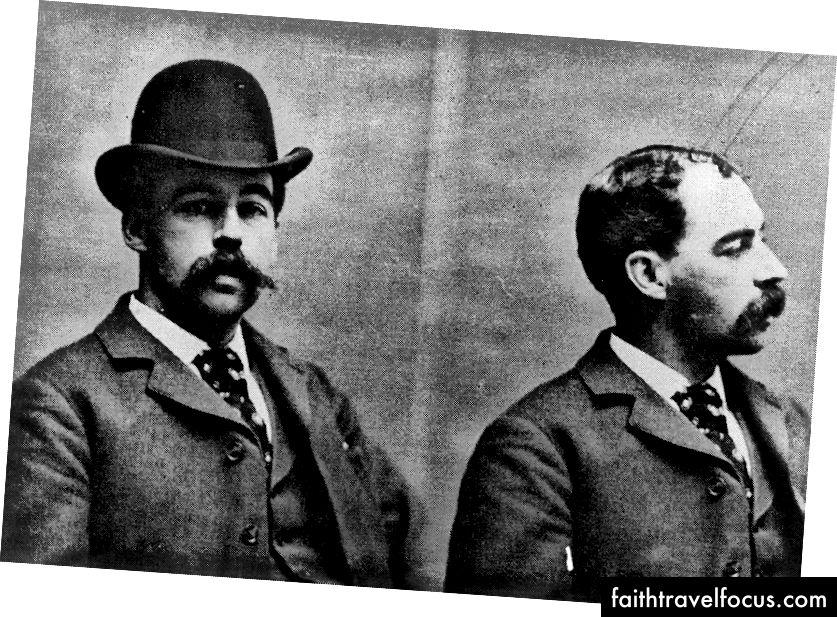 Có sức lôi cuốn như anh ta tàn bạo, Herman Webster Mudgett, bí danh H. H. Holmes, đã trở thành người Mỹ Jack The Ripper trộm khi tội ác của anh ta bị phát hiện vào năm 1894. | Christine E. Crandall