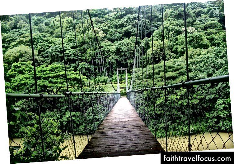 Cầu treo ở Thenmala, Kollam