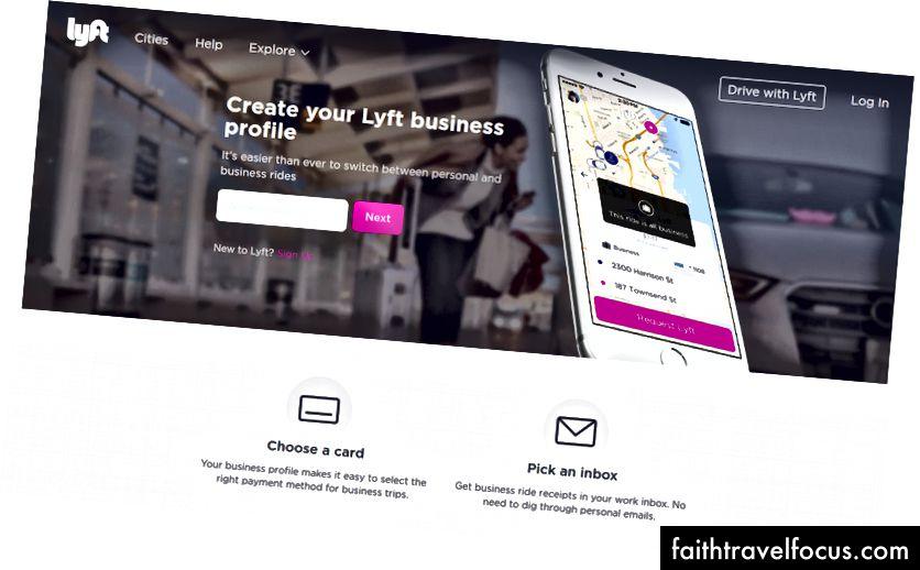 Lyft cho doanh nghiệp