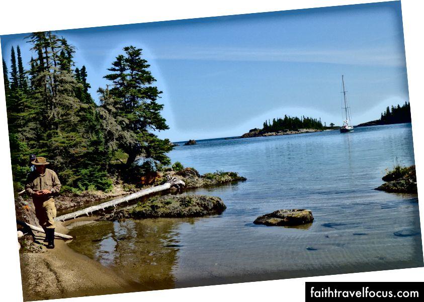 Cảng Patterson, thuộc quần đảo Slate. Ảnh của Dick Parsons.