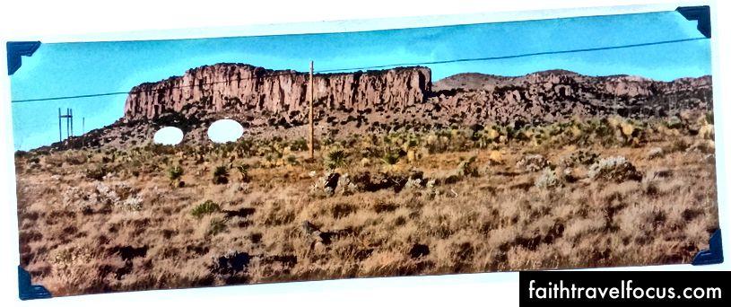 Технологія в пустелі. Поблизу Херлі, Нью-Мексико, листопад 1996 року.