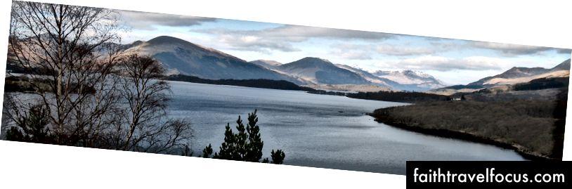Hồ lớn nhất ở Scotland - Loch Lomond