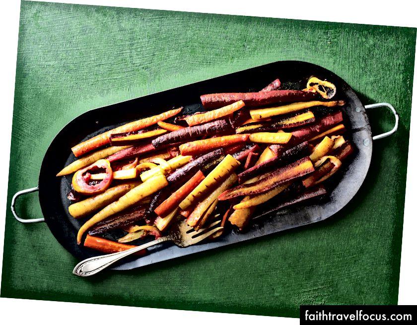 Cà rốt nướng Ghee với công thức sốt nóng FilFil tại đây