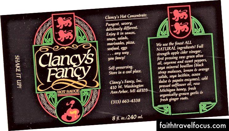 Nhãn hiệu Clancy từ cổ điển