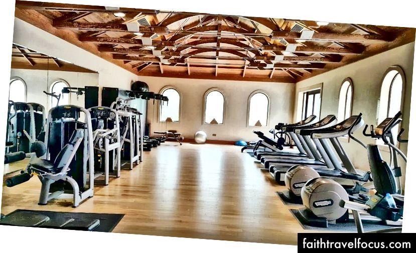 Một phòng tập thể dục cho những người đam mê thể dục | Ảnh tín dụng: Văn phòng gia đình ngày nay
